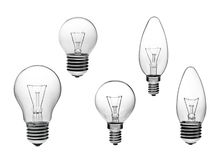 Light bulb equipment Royalty Free Stock Photography