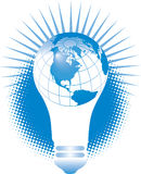 Light Bulb Globe Stock Photos