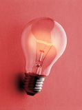 Light bulb - Gluebirne Royalty Free Stock Photos