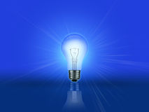 Light Bulb Gradient Royalty Free Stock Photos