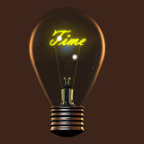 Light bulb icon Royalty Free Stock Photo