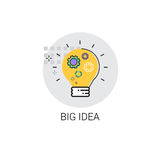 Light Bulb Icon New Idea Business Concept Royalty Free Stock Photo