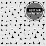 Light bulb icons set royalty free stock photos