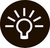 Light bulb - idea Stock Photography
