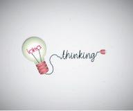Light bulb idea background Royalty Free Stock Image