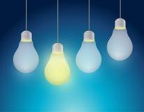 Light bulb idea concept illustration design Stock Photo