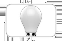 Light bulb idea creative Royalty Free Stock Photos