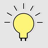 Light bulb idea  Royalty Free Stock Photo