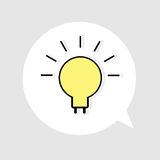 Light bulb idea  Royalty Free Stock Image