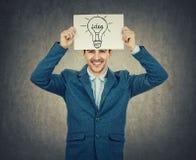 Light bulb idea Stock Photography