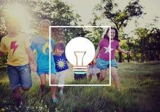 Light Bulb Ideas Inspiration VIsion Innovation Power Concept Stock Images