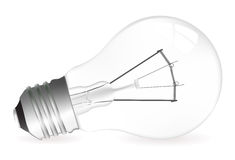 Light bulb illustration Royalty Free Stock Photo