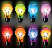 Light bulb illustration Stock Photo