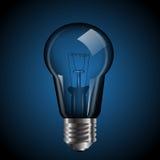 Light bulb with  illustration eps 10 Stock Photos