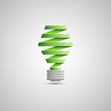 Light Bulb Illustration Royalty Free Stock Images