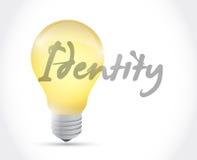 Light bulb integrity sign illustration design Royalty Free Stock Photography