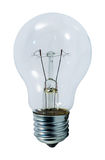 Light bulb. Isoladed on a white background Royalty Free Stock Photography