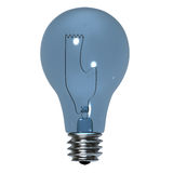 Light bulb, isolated Stock Photography