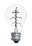 Light bulb isolated on white background Stock Photography