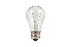 Light bulb isolated Royalty Free Stock Image
