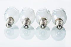 Light bulb isolated on white,  Realistic photo Royalty Free Stock Photo