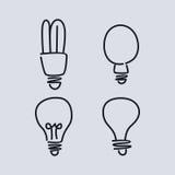 Light bulb lamp Royalty Free Stock Photo