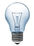 Light bulb lighting. Equipment on white background Royalty Free Stock Photo