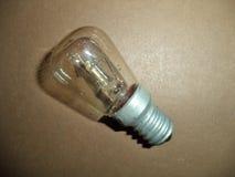 Light bulb for refrigerator stock image