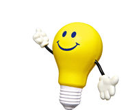 Light bulb man Royalty Free Stock Image