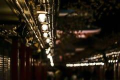 Light bulb of Nakamise Street royalty free stock photography