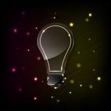 Light bulb neon concept Stock Photo