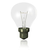 Light bulb off Royalty Free Stock Photos