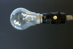 Light bulb off Royalty Free Stock Photography