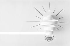 Light Bulb. Stock Photo