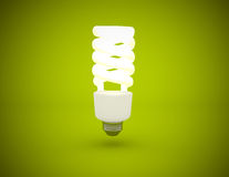 Light bulb power saving Stock Images