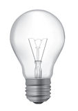 Light Bulb realistic drawing Royalty Free Stock Photos