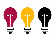 Light bulb set 1 vector illustration