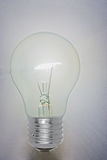 Light bulb shining Royalty Free Stock Image