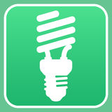 Light bulb sign Royalty Free Stock Photography