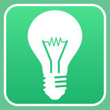 Light bulb sign Stock Photos