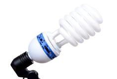 Light bulb spiral Royalty Free Stock Image