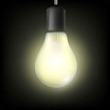 Light bulb. Stock illustration. Royalty Free Stock Images