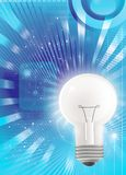 Light bulb technology Stock Image