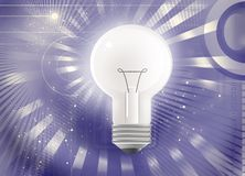 Light bulb technology Stock Photo