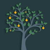 Light bulb tree Royalty Free Stock Image