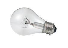 Light bulb turned off Royalty Free Stock Photo