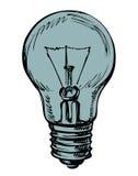 Light bulb. Vector drawing Stock Photo