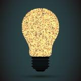 Light bulb vector icon Royalty Free Stock Photo