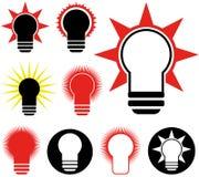 Light Bulb. Vector illustration (EPS 10 Royalty Free Stock Photography