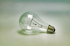 Light bulb ,vintage style Stock Photography